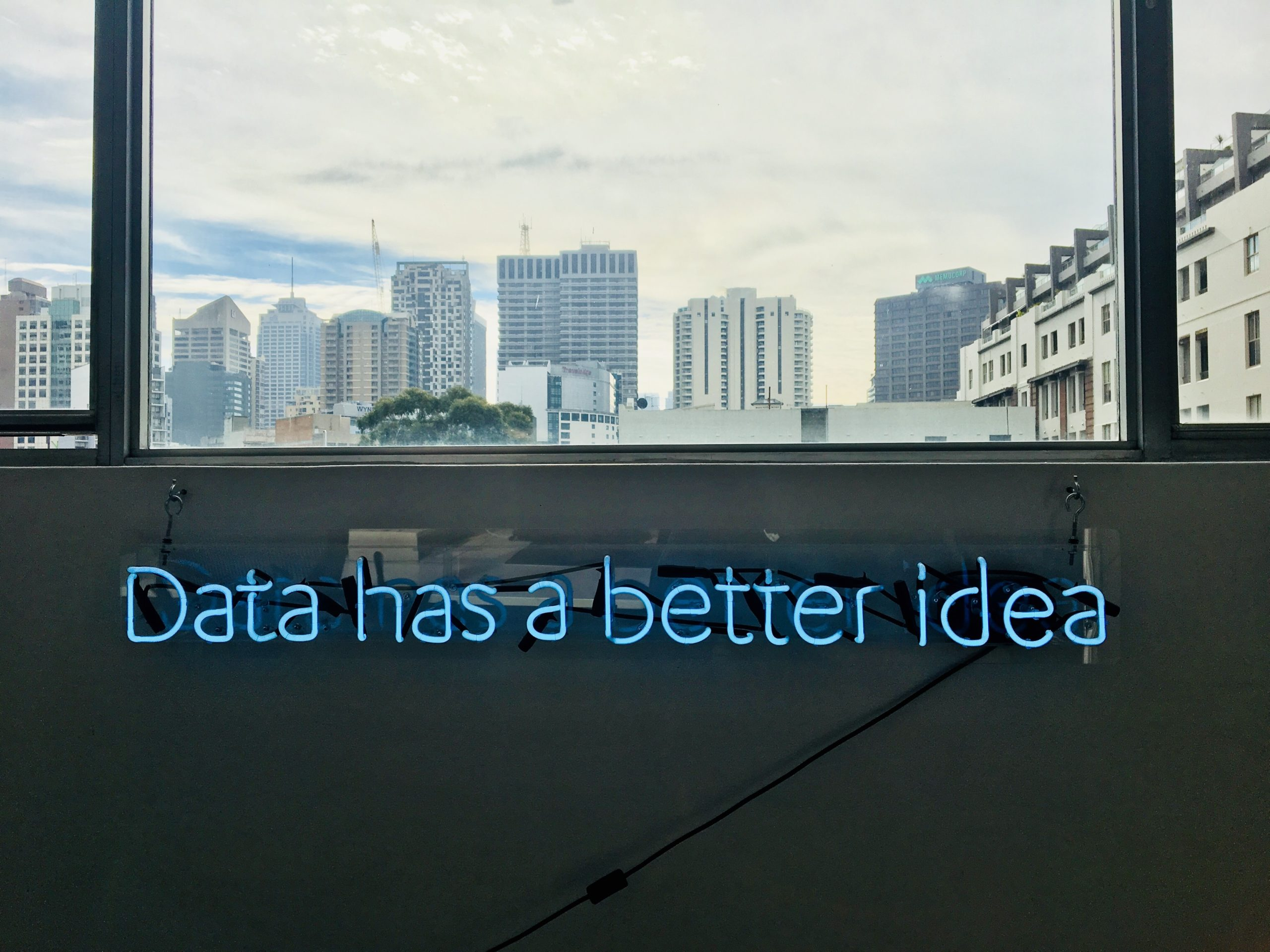 Data has better idea