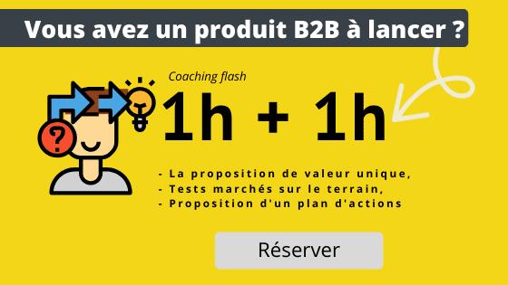 coaching lancement produit B2B